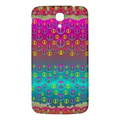 Years Of Peace Living In A Paradise Of Calm And Colors Samsung Galaxy Mega I9200 Hardshell Back Case