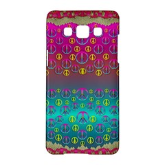 Years Of Peace Living In A Paradise Of Calm And Colors Samsung Galaxy A5 Hardshell Case