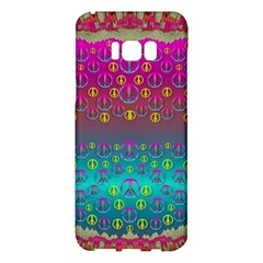Years Of Peace Living In A Paradise Of Calm And Colors Samsung Galaxy S8 Plus Hardshell Case