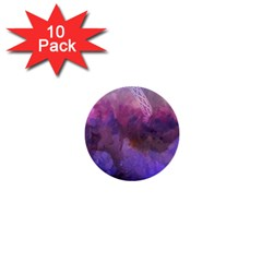 Ultra Violet Dream Girl 1  Mini Buttons (10 Pack)