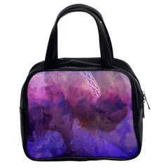 Ultra Violet Dream Girl Classic Handbags (2 Sides)
