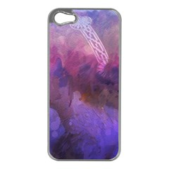 Ultra Violet Dream Girl Apple Iphone 5 Case (silver)