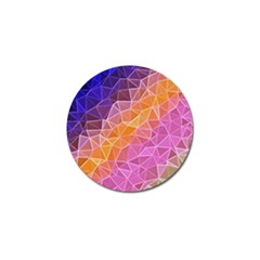 Crystalized Rainbow Golf Ball Marker (4 Pack)