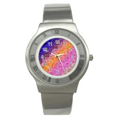 Crystalized Rainbow Stainless Steel Watch