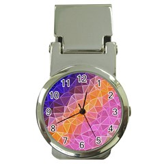 Crystalized Rainbow Money Clip Watches