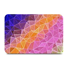 Crystalized Rainbow Plate Mats