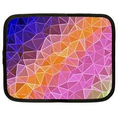 Crystalized Rainbow Netbook Case (large)