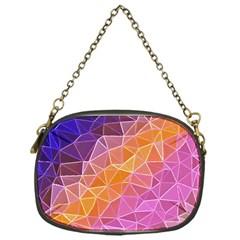 Crystalized Rainbow Chain Purses (one Side)