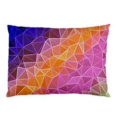 Crystalized Rainbow Pillow Case