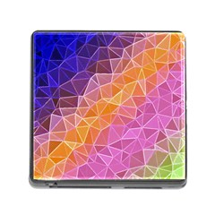 Crystalized Rainbow Memory Card Reader (square)