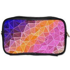 Crystalized Rainbow Toiletries Bags