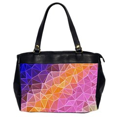 Crystalized Rainbow Office Handbags (2 Sides)