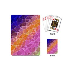 Crystalized Rainbow Playing Cards (mini)