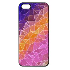 Crystalized Rainbow Apple Iphone 5 Seamless Case (black)