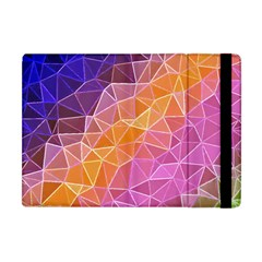 Crystalized Rainbow Apple Ipad Mini Flip Case