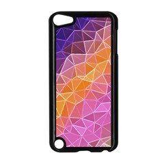 Crystalized Rainbow Apple Ipod Touch 5 Case (black)