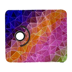 Crystalized Rainbow Galaxy S3 (flip/folio)