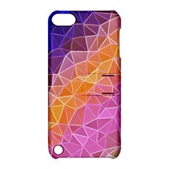 Crystalized Rainbow Apple Ipod Touch 5 Hardshell Case With Stand