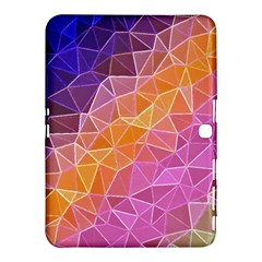 Crystalized Rainbow Samsung Galaxy Tab 4 (10 1 ) Hardshell Case