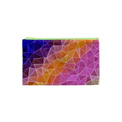 Crystalized Rainbow Cosmetic Bag (xs)
