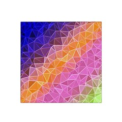 Crystalized Rainbow Satin Bandana Scarf