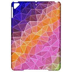 Crystalized Rainbow Apple Ipad Pro 9 7   Hardshell Case