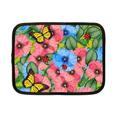 Floral Scene Netbook Case (small)