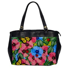 Floral Scene Office Handbags