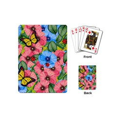Floral Scene Playing Cards (mini)