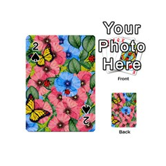 Floral Scene Playing Cards 54 (mini)
