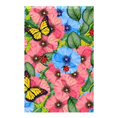 Floral Scene Shower Curtain 48  X 72  (small)