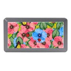 Floral Scene Memory Card Reader (mini)