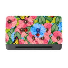 Floral Scene Memory Card Reader With Cf