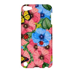 Floral Scene Apple Ipod Touch 5 Hardshell Case