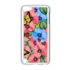 Floral Scene Apple Ipod Touch 5 Case (white)