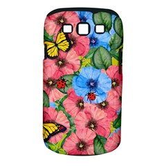 Floral Scene Samsung Galaxy S Iii Classic Hardshell Case (pc+silicone)