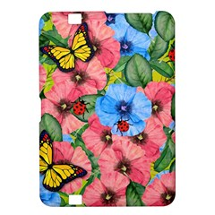 Floral Scene Kindle Fire Hd 8 9