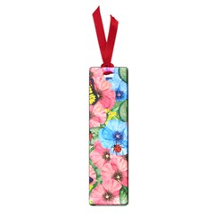 Floral Scene Small Book Marks