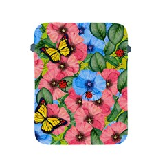 Floral Scene Apple Ipad 2/3/4 Protective Soft Cases