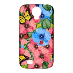Floral Scene Samsung Galaxy S4 Classic Hardshell Case (pc+silicone)