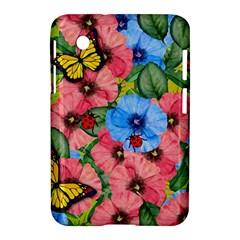 Floral Scene Samsung Galaxy Tab 2 (7 ) P3100 Hardshell Case