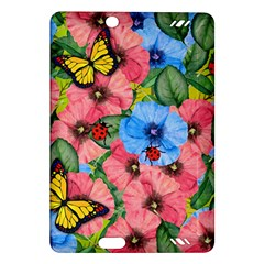 Floral Scene Amazon Kindle Fire Hd (2013) Hardshell Case
