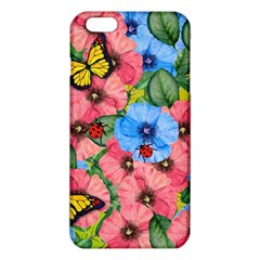 Floral Scene Iphone 6 Plus/6s Plus Tpu Case