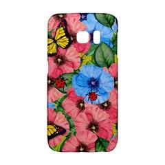 Floral Scene Galaxy S6 Edge