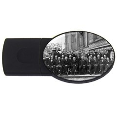 1927 Solvay Conference On Quantum Mechanics Usb Flash Drive Oval (2 Gb)