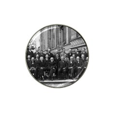 1927 Solvay Conference On Quantum Mechanics Hat Clip Ball Marker (10 Pack)