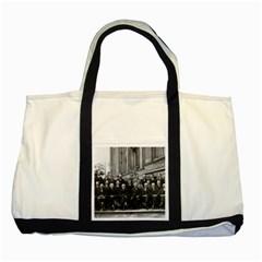 1927 Solvay Conference On Quantum Mechanics Two Tone Tote Bag