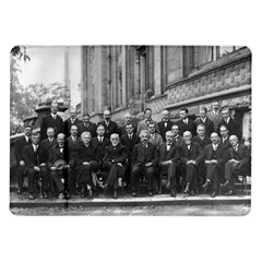 1927 Solvay Conference On Quantum Mechanics Samsung Galaxy Tab 10 1  P7500 Flip Case