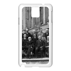 1927 Solvay Conference On Quantum Mechanics Samsung Galaxy Note 3 N9005 Case (white)