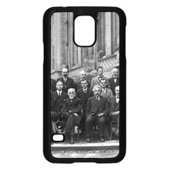1927 Solvay Conference On Quantum Mechanics Samsung Galaxy S5 Case (black)
